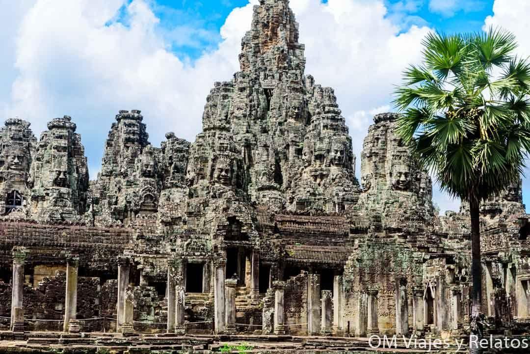 Templo de Bayon, en Angkor