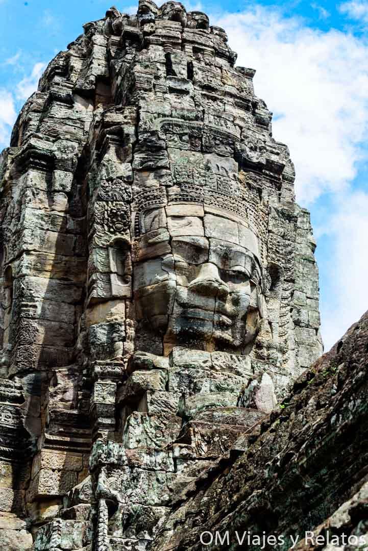 Los rostros de Angkor