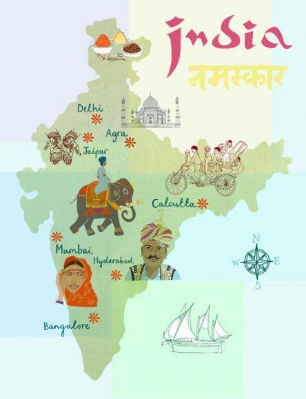 triángulo-de-oro-India-mapa