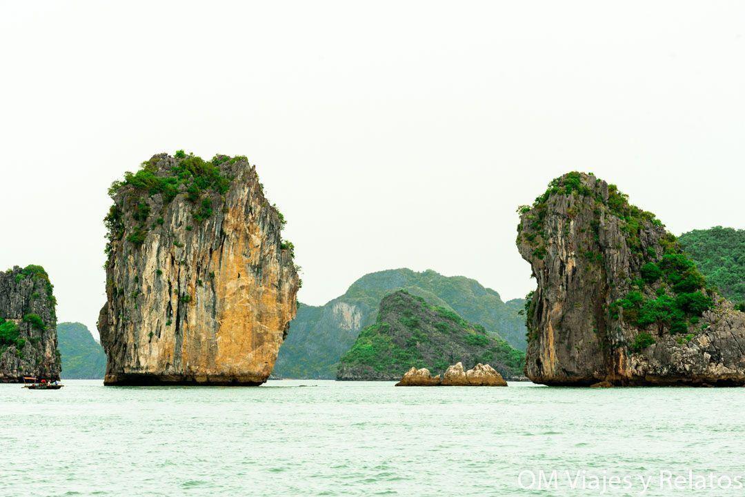 Bahía de Halong desde Cat Ba