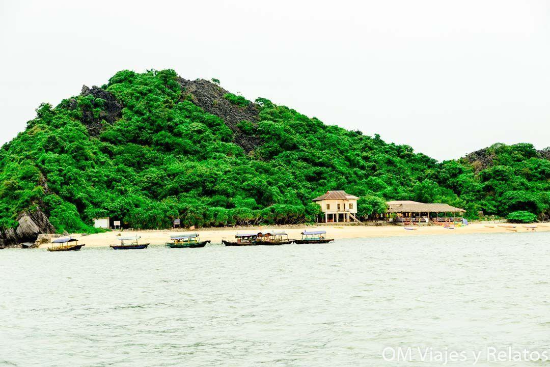 excursión-halong-Bay-desde-Cat-Ba-island-por libre