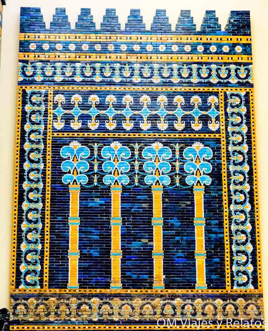 Puerta de la antigua ciudad de Babilonia