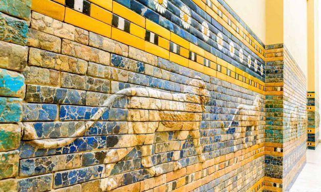 LA PUERTA DE LA ANTIGUA CIUDAD DE BABILONIA: ADMÍRALA EN BERLÍN EN EL MUSEO DE PÉRGAMO
