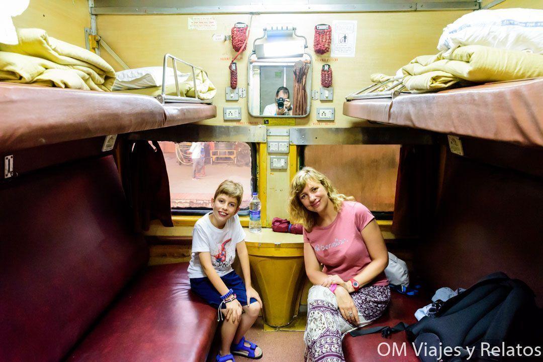 viajar a la India con niños
