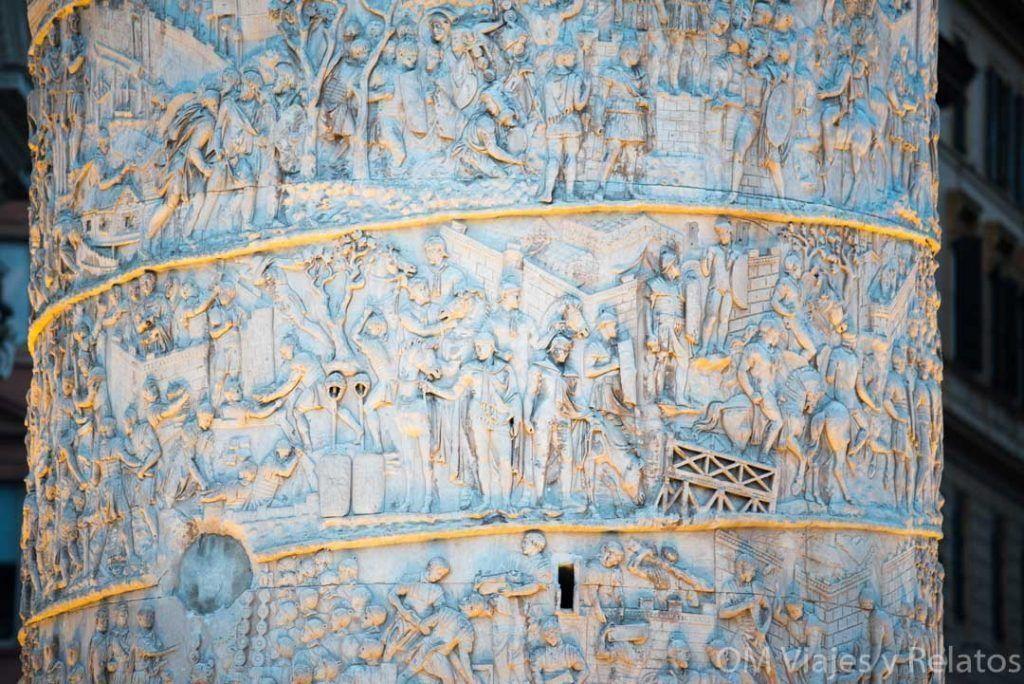 monumentos-de-Roma-Columna-de-Trajano