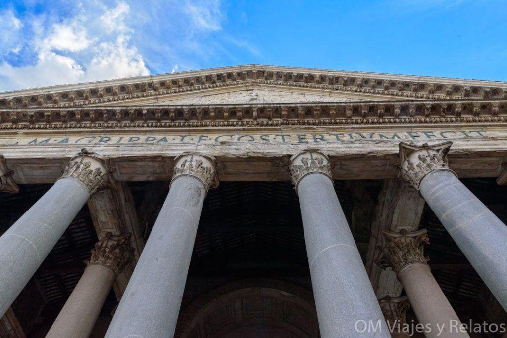 monumentos-de-Roma-Antigua-Panteón-de-Agripa