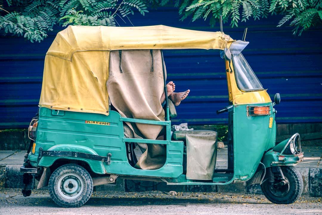 rickshaw-India