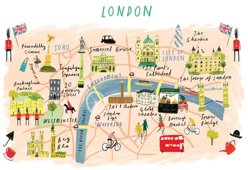 Mapa-turismo-Londres