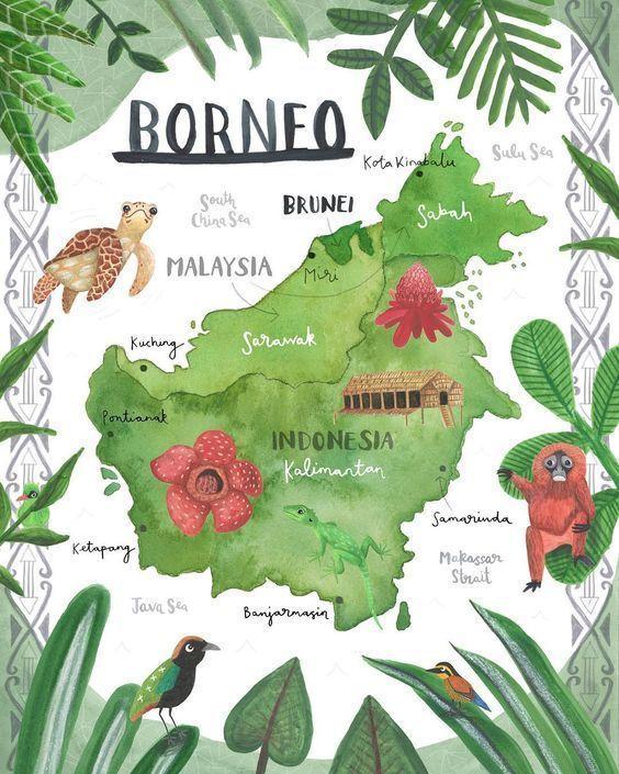 mapa-Borneo