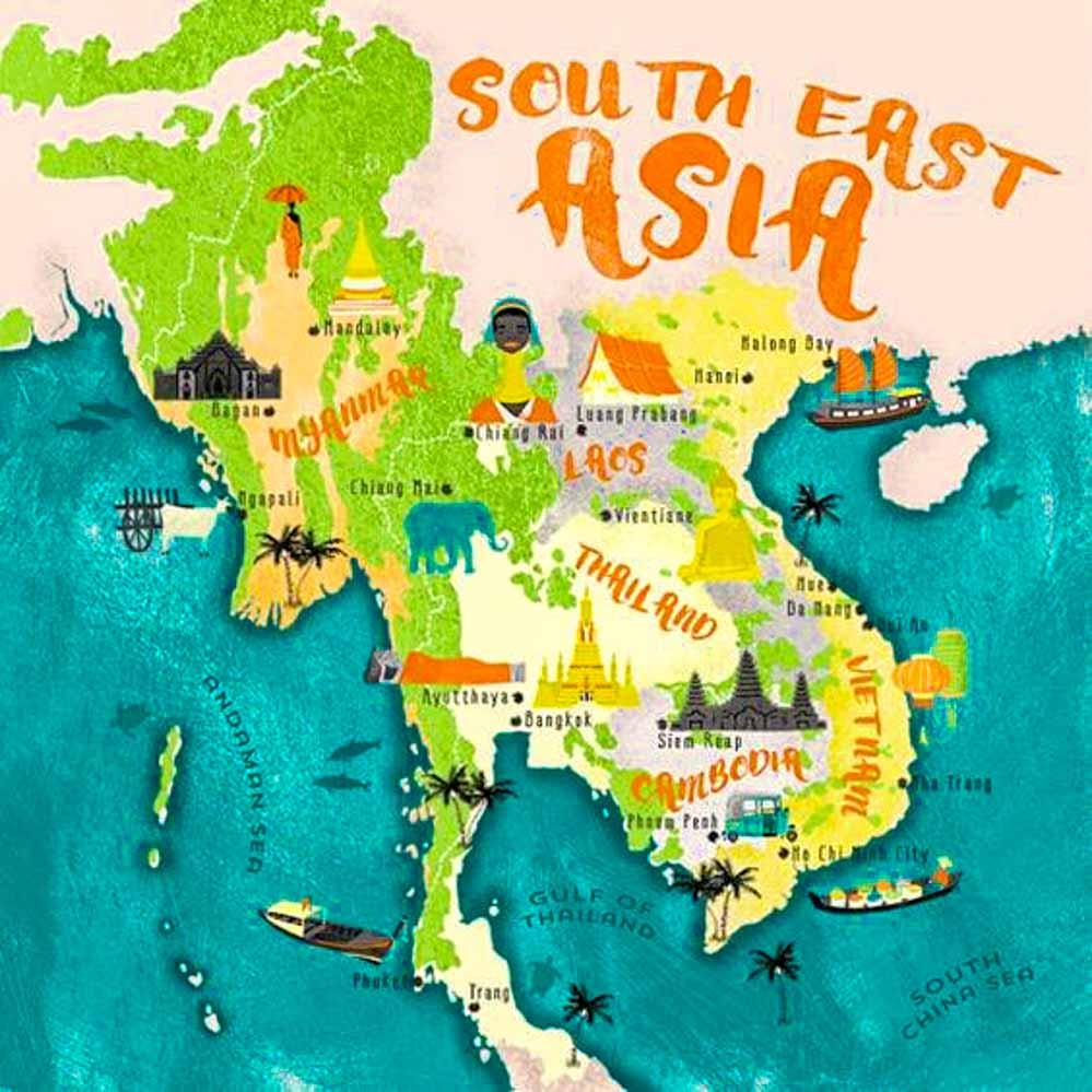 mapa-sudeste-asiático-visados