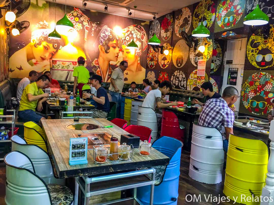 Food Courts o Hawker Centres en Singapur