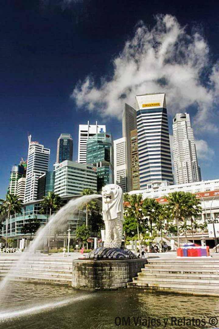 cosas-que-visitar-en-Singapur-Merlion