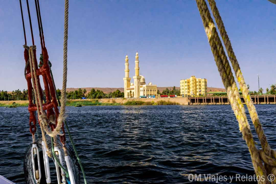 Faluca-Asuán-Egipto