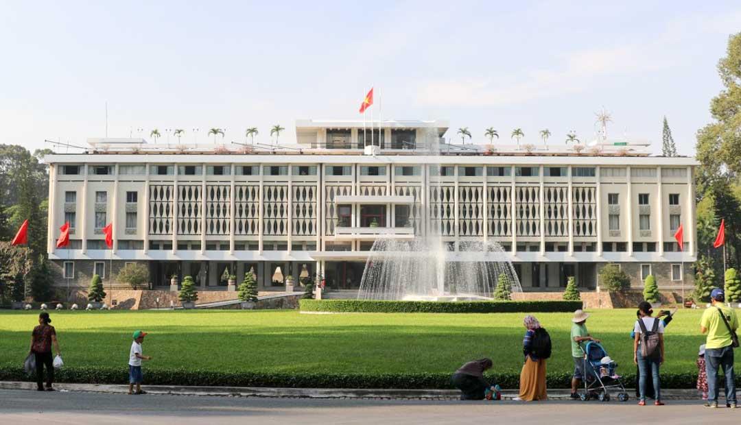 Palacio de la Reunificación en Saigón