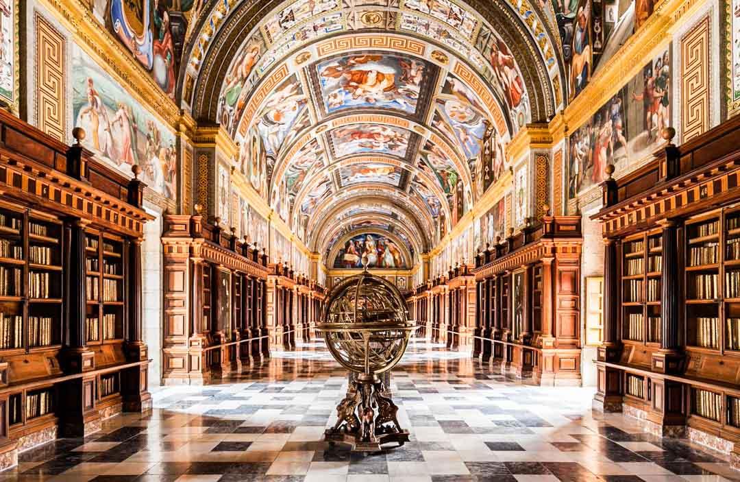 Biblioteca-El-Escorial
