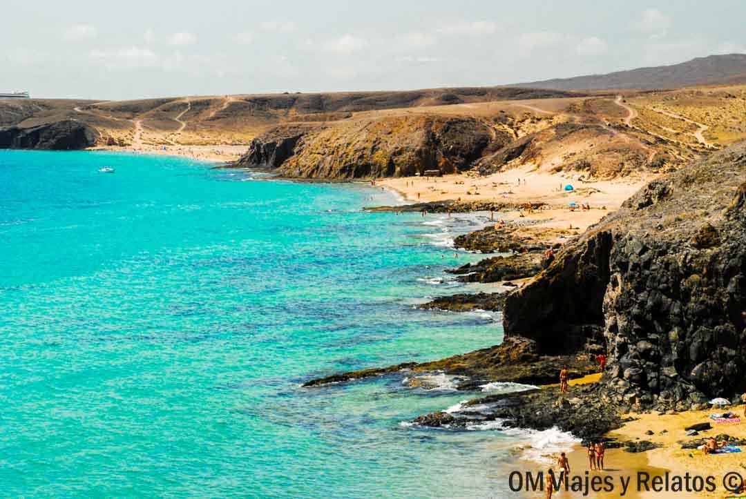 Playas-de-Lanzarote-Papagayo-Lanzarote