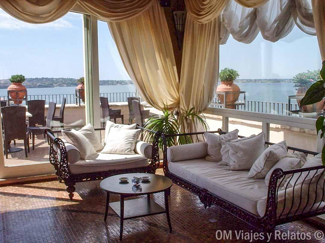 Hotel & Spa Des Etrangers en Isla Ortigia, Siracusa.