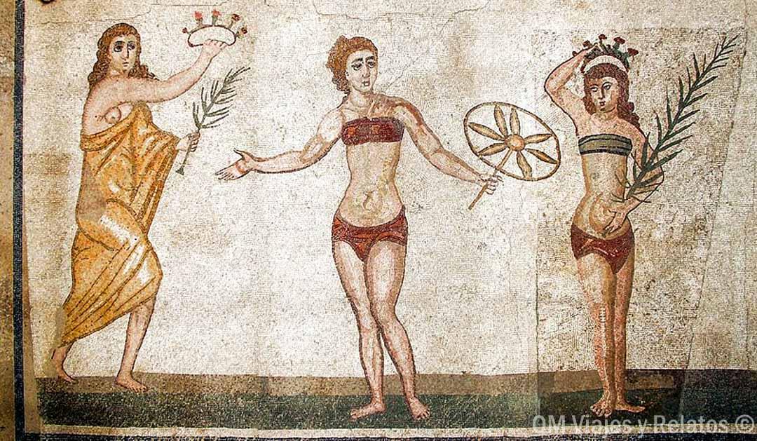 Mosaicos-romanos-Sicilia-mujeres-bikini