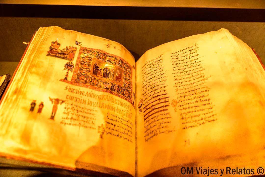 Biblioteca-Monasterio-Santa-Catalina-Sinaí