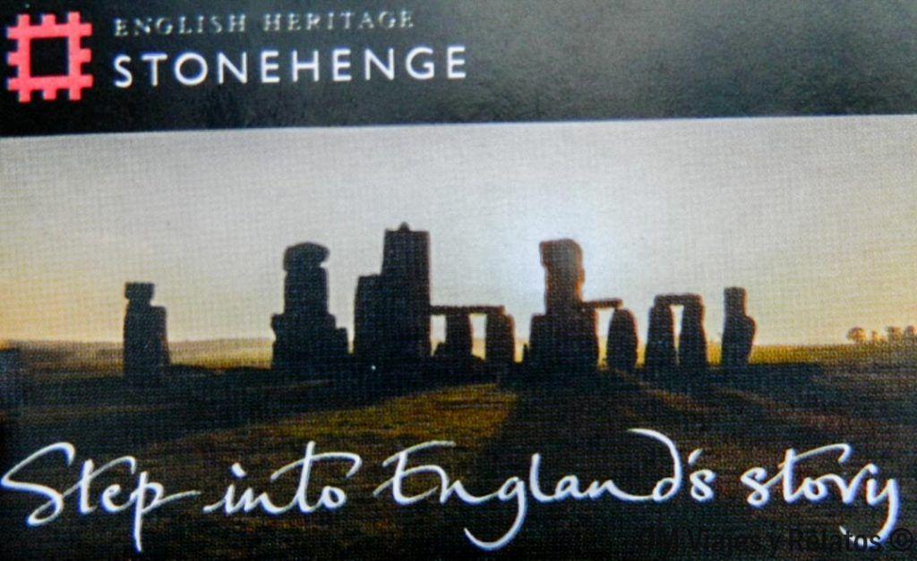 Ticket de entrada a Stonehenge