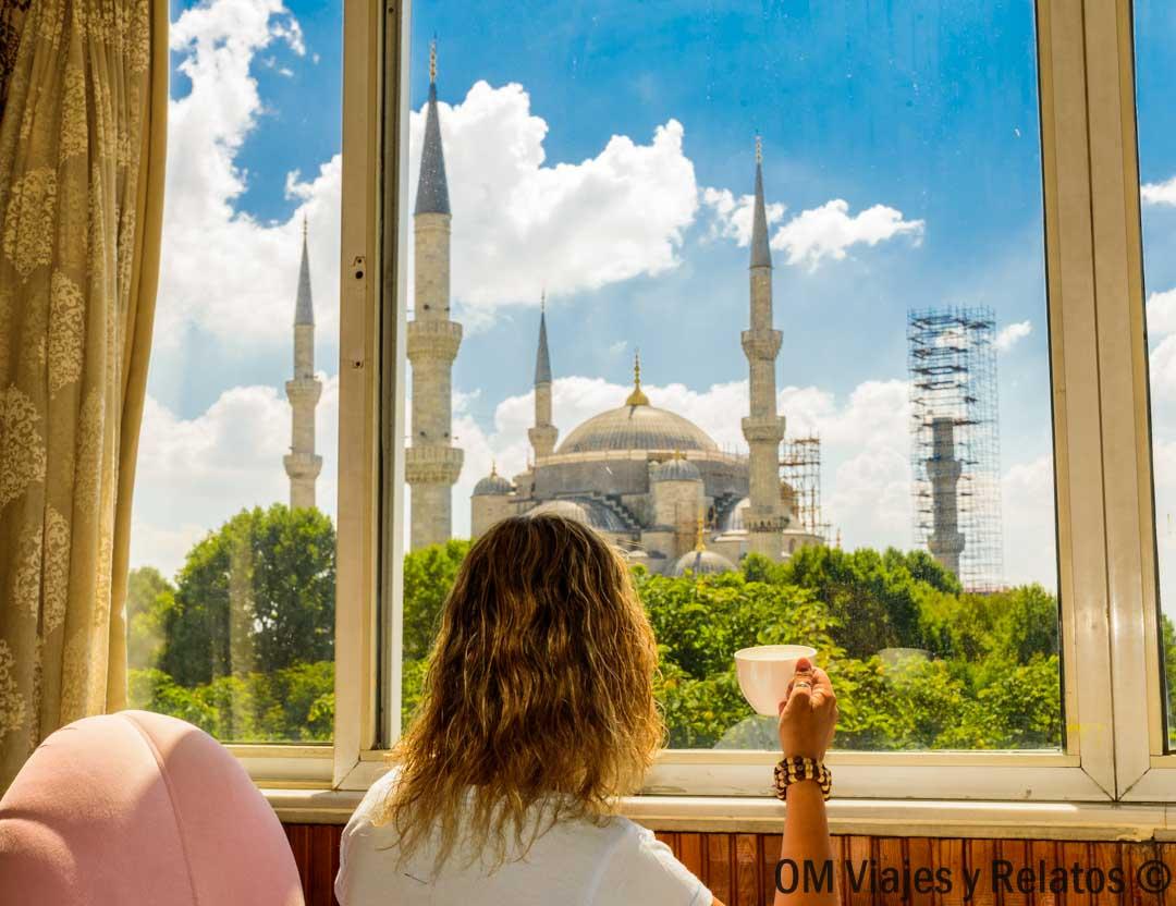 hoteles-con-vistas-a-la Mezquita-Azul-y Santa-Sofía