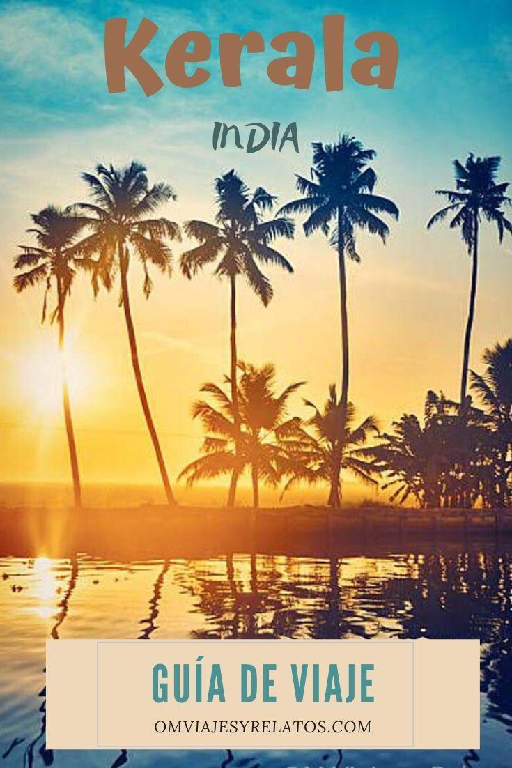 ruta de viaje a kerala India