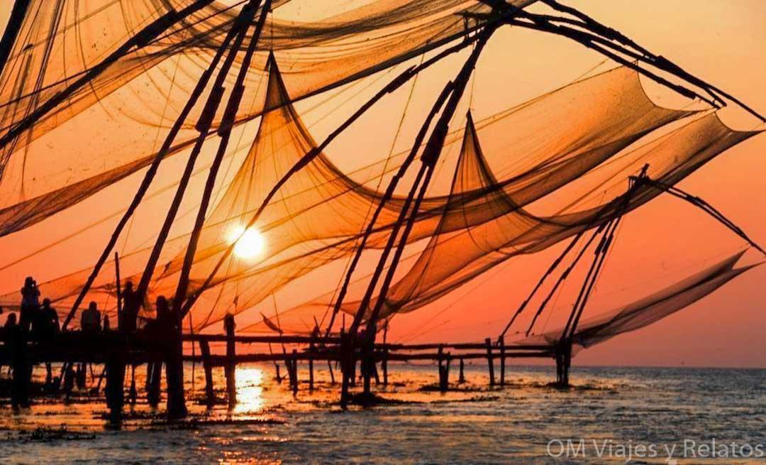 que-ver-en-Cochín-Kerala-redes-chinas