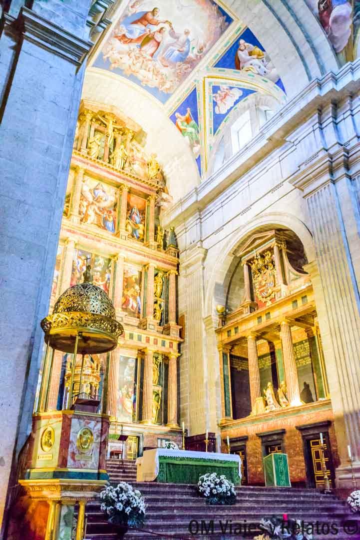 Visitar-El-Escorial-Basílica