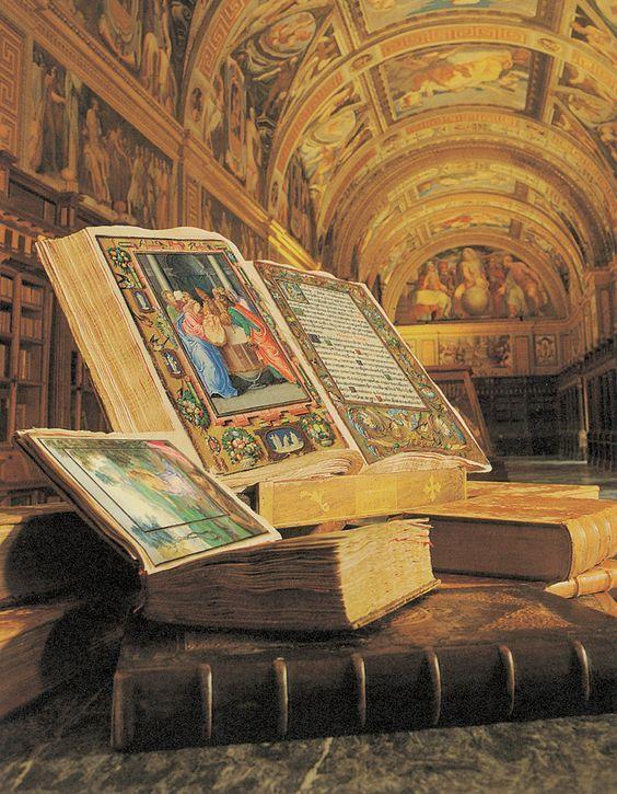 visitar-El-Escorial-Biblioteca