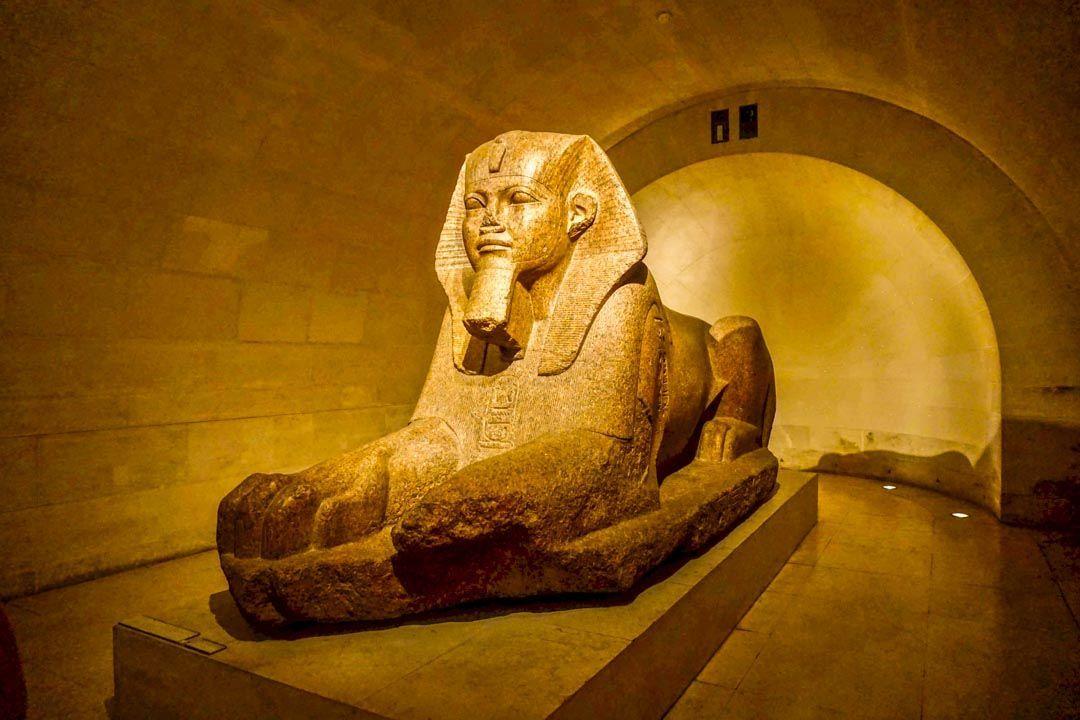 Gran Esfinge de Tanis: Museo Louvre