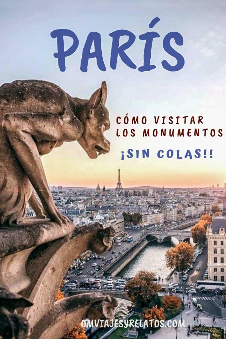 VISITAR PARÍS Y SUS MONUMENTOS