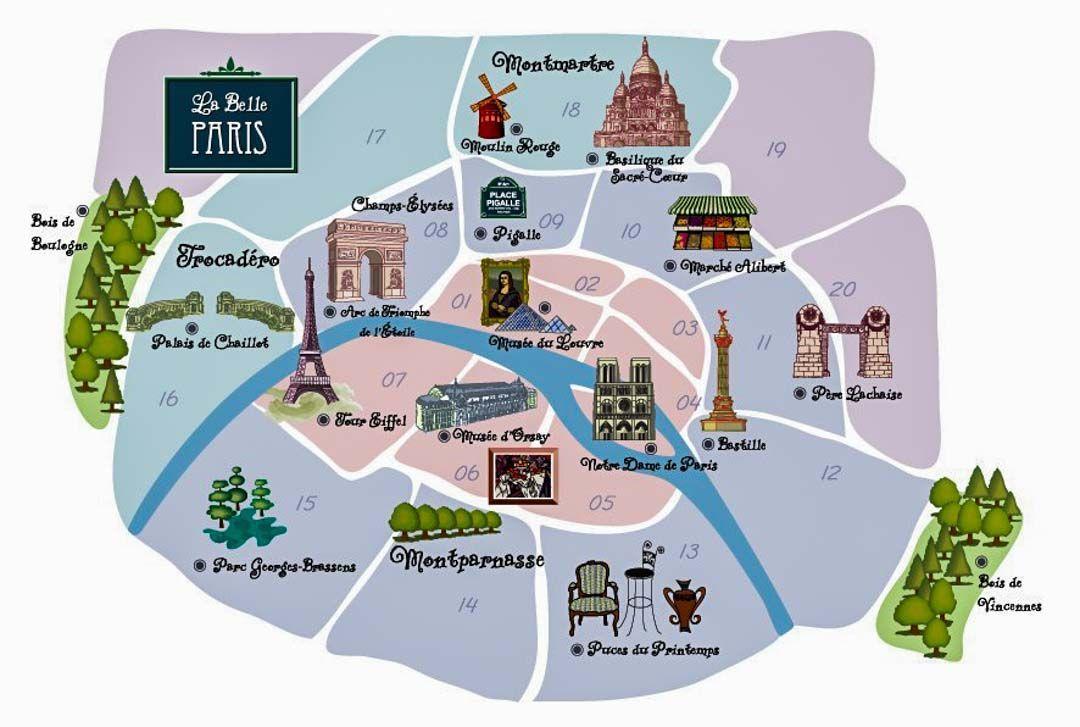 mapa-París-turismo