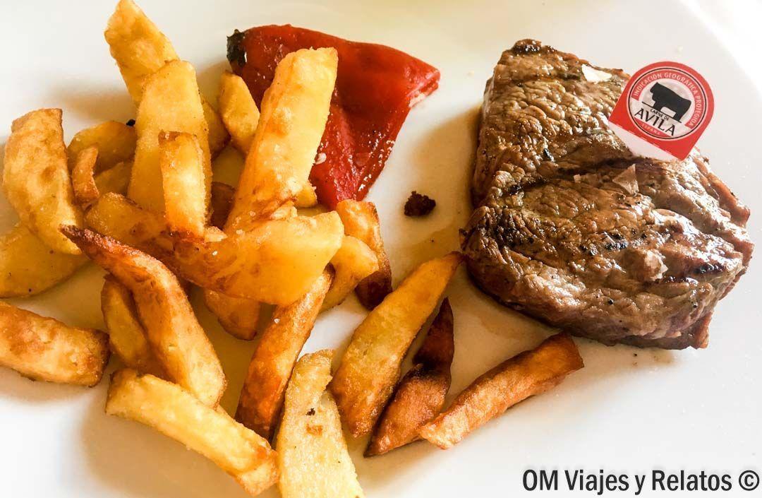 gastronomía Avila: CHULETÓN DE ÁVILA