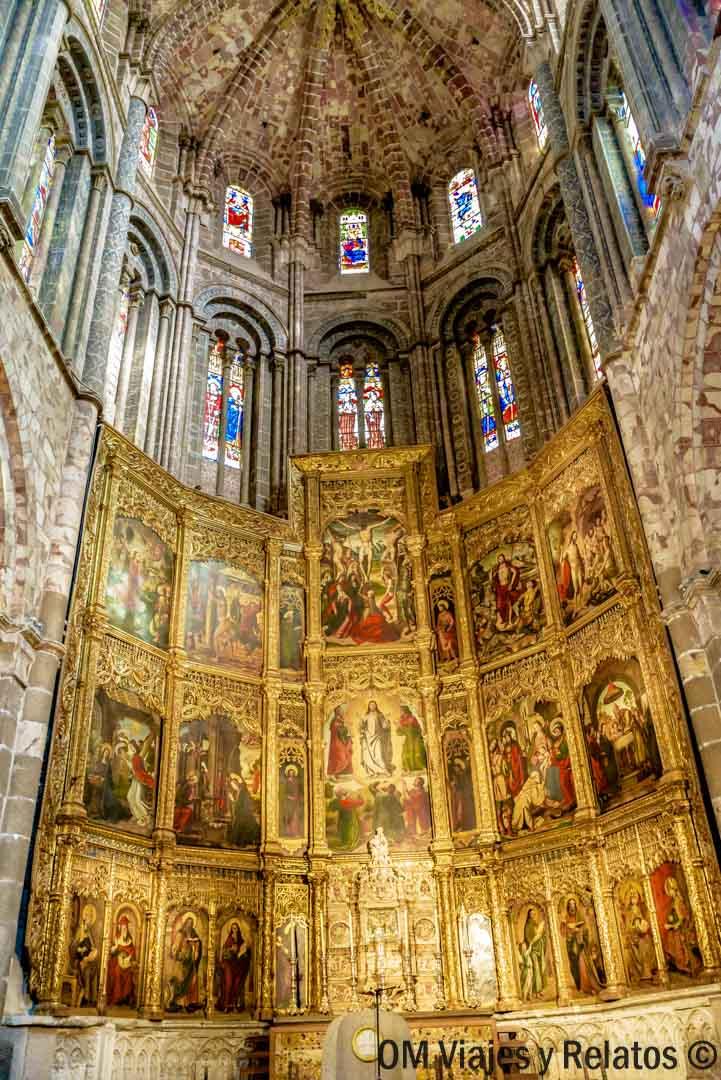 Retablo de la Catedral de Ávila.