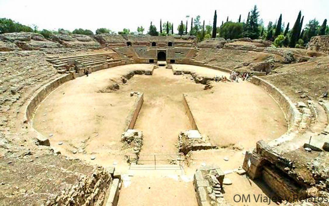 que-ver-en-Mérida-Anfiteatro-Romano