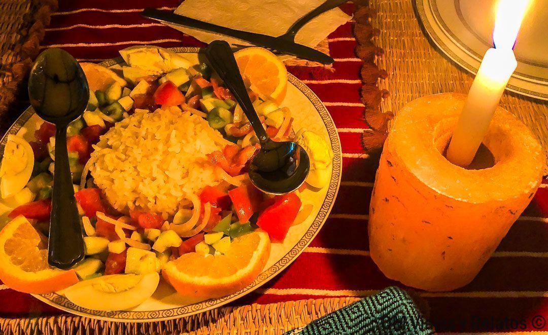 cena-en-el-desierto-del-Sahara