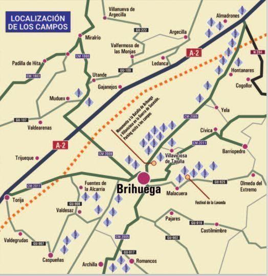 mapa-ruta-campos-lavanda-Brihuega