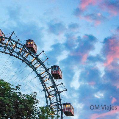 Austria Vienna Wheel Prater Amusement Park