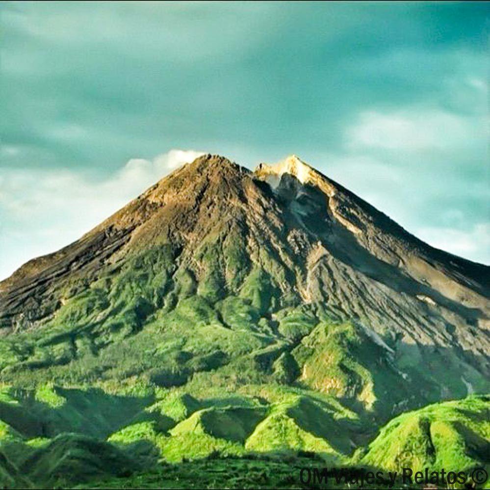 que-ver-en-la Isla-de-Java-Volcán-Merapi
