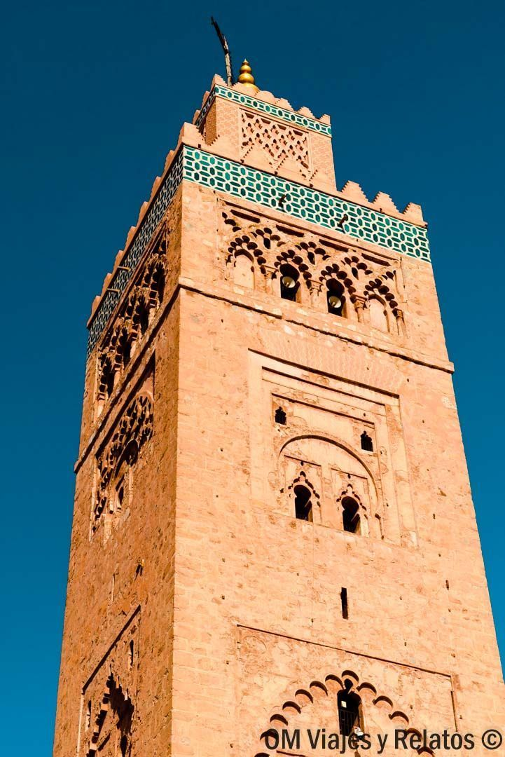 IMPRESCINIBLES-3-DÍAS- MARRAKECH-Mezquita-Koutoubia