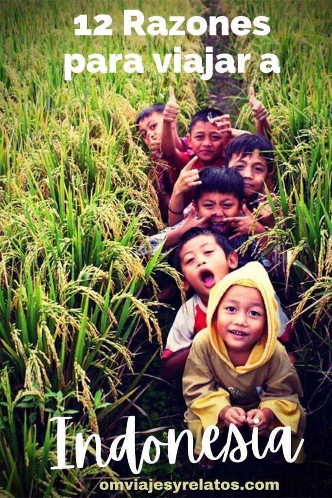 RAZONES PARA UN VIAJE A INDONESIA