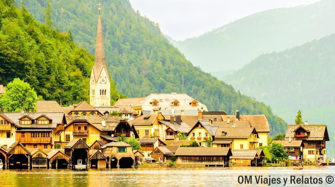 Hallstatt el pueblo más bonito de Austria