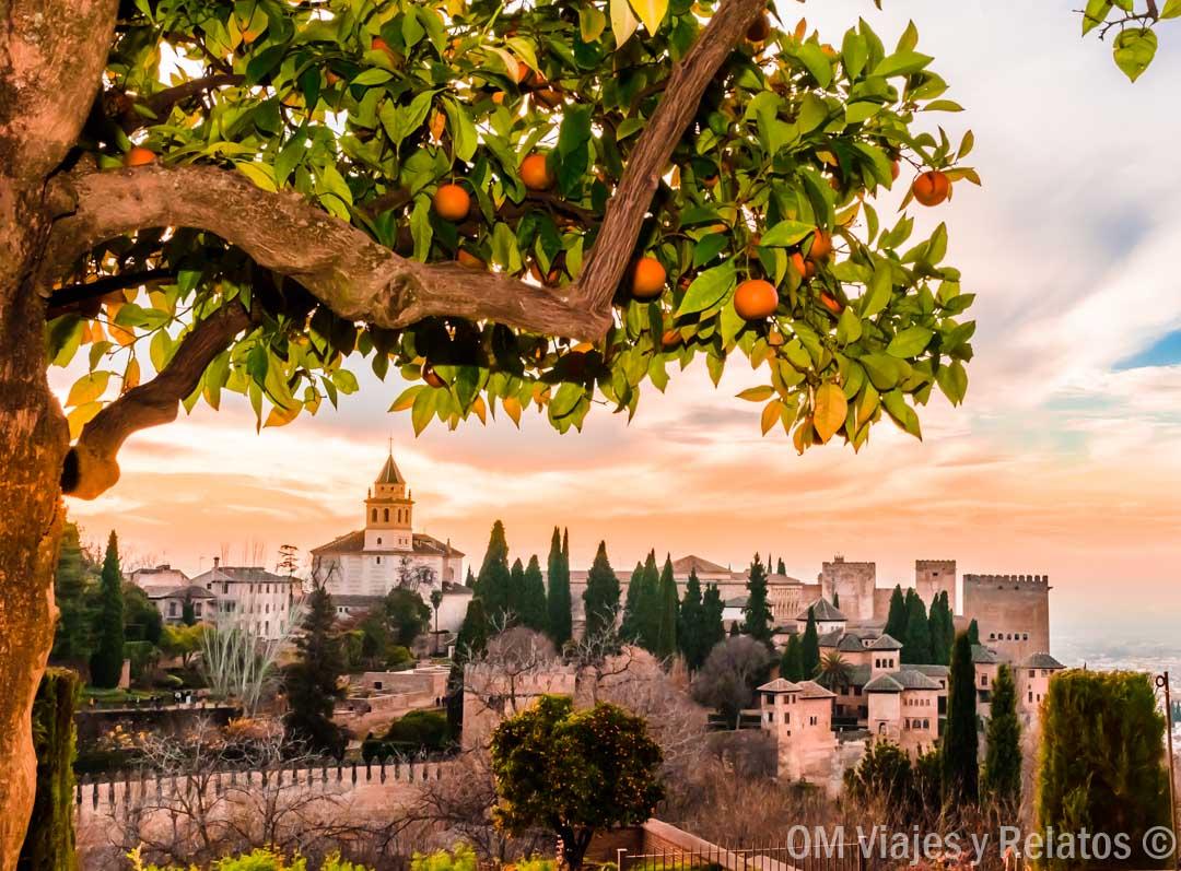 atardecer-Alhambra