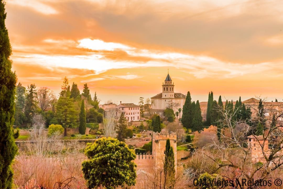 Granada-atardecer-Alhambra