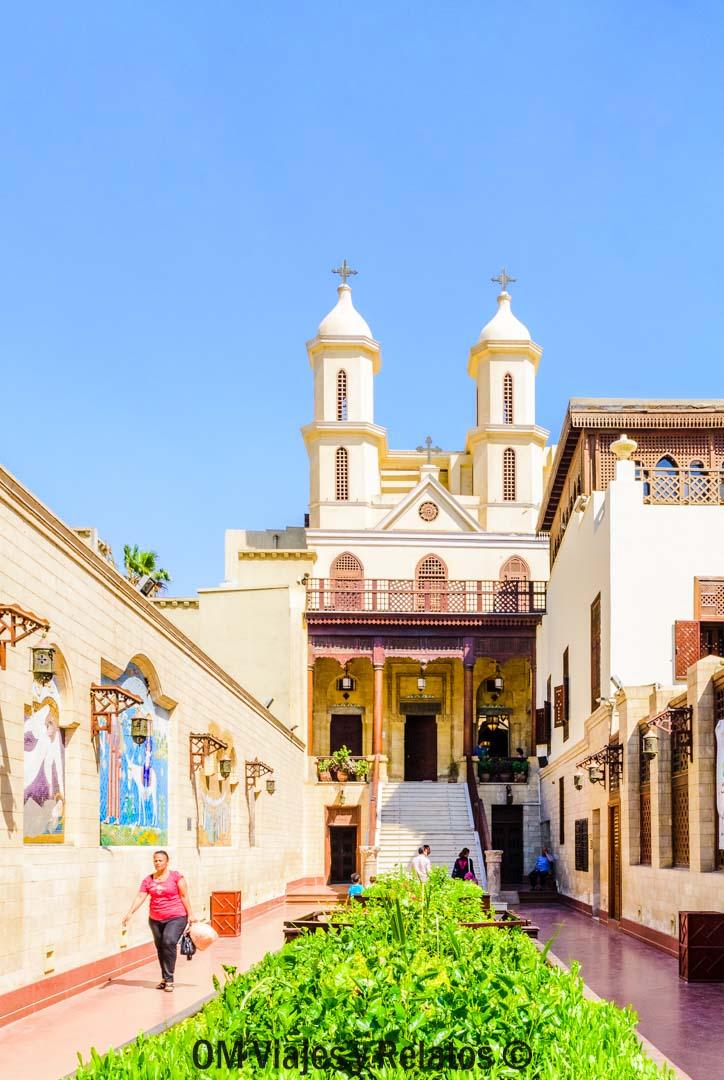 que-ver-en-El-Cairo-Iglesia-Colgante