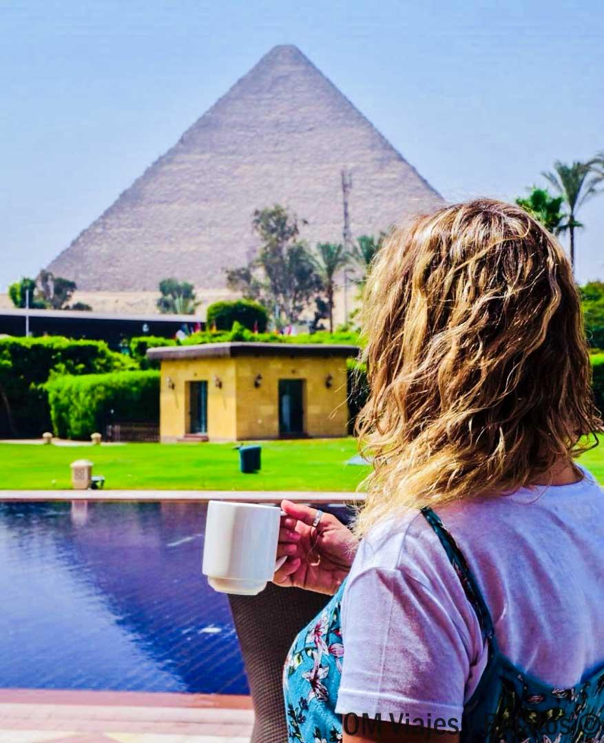 hoteles con vistas a las pirámides en El Cairo