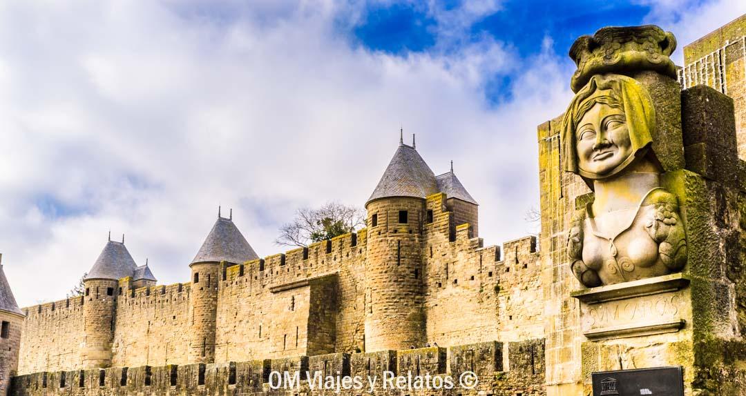 que-ver-en-Carcassonne-Dama-Carcas