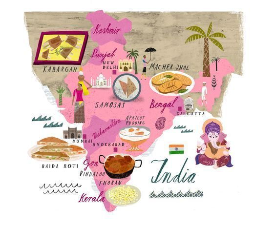 mapa-turismo-India