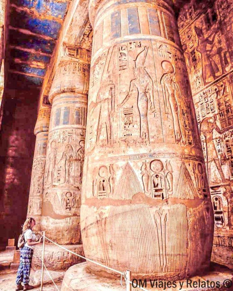 RUTA-POR-EGIPTO-TEMPLO-MEDINET-HABU