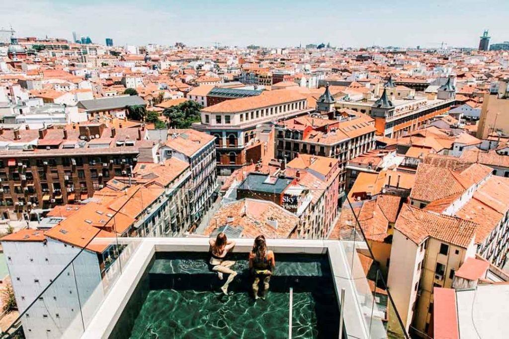 hoteles-con-vistas-Madrid